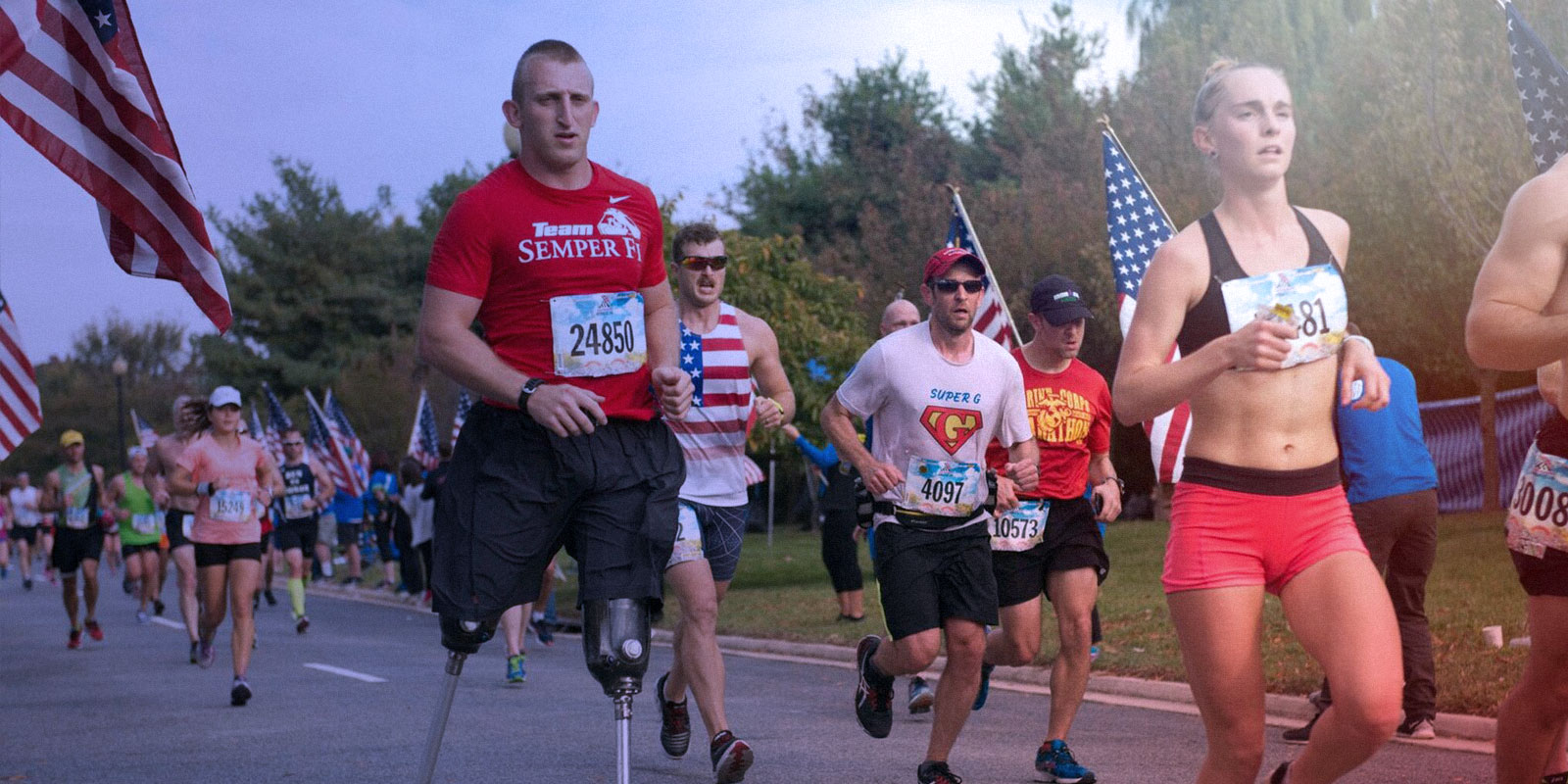Marathon for military service members